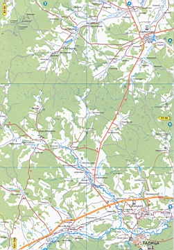 Карта байкаловского района