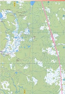 Карта гаринского района свердловской