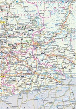 Карта свердловской области карта